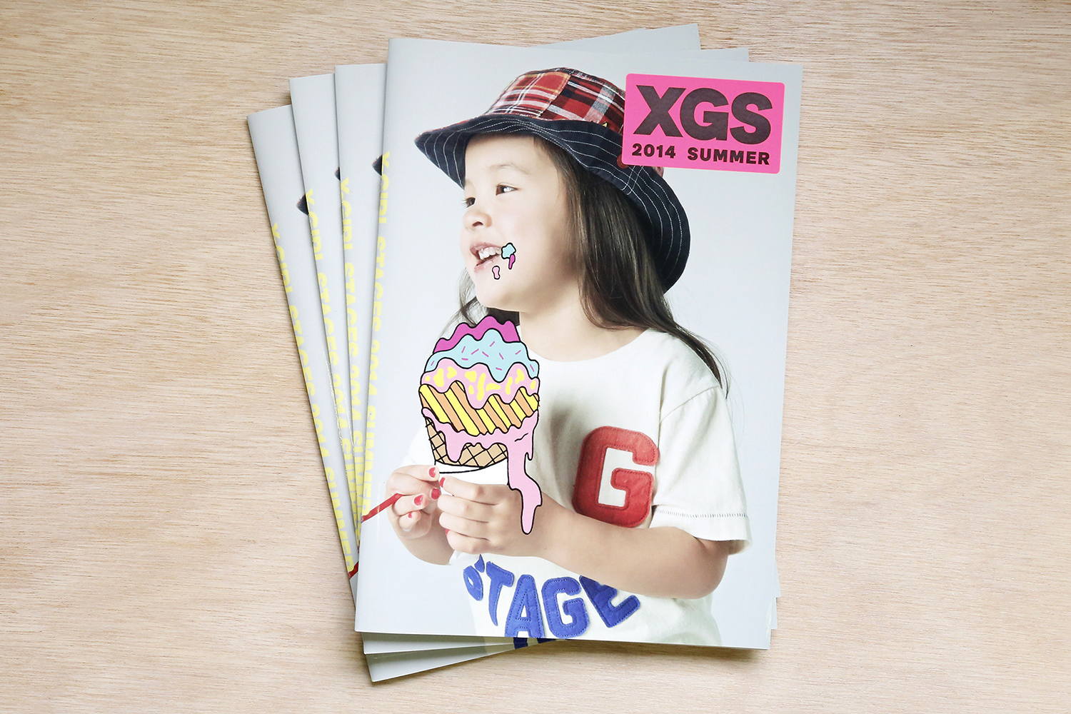 X-girl Stages 2014 Summer